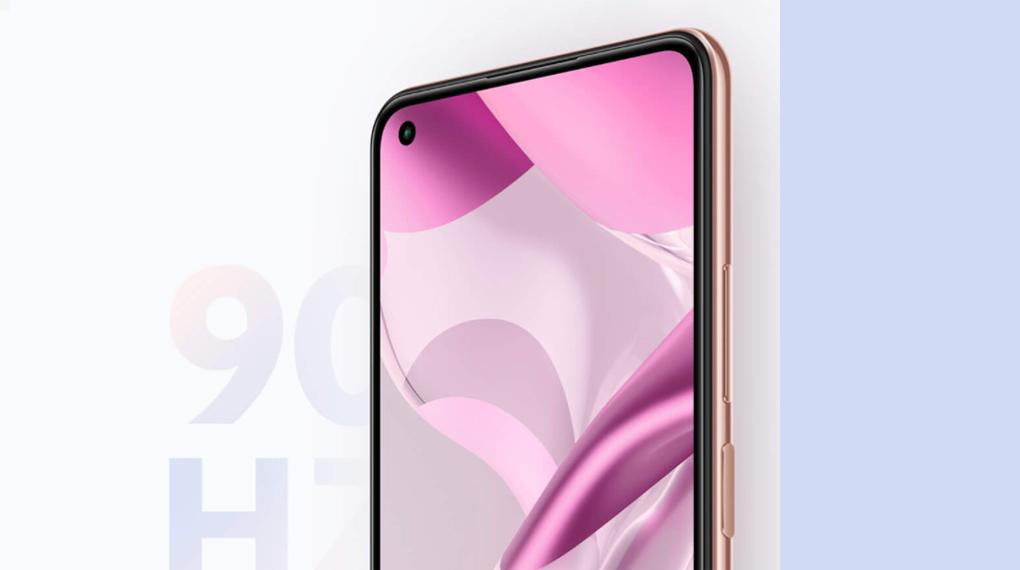 Tần số quét 90 Hz - Xiaomi 11 Lite 5G NE