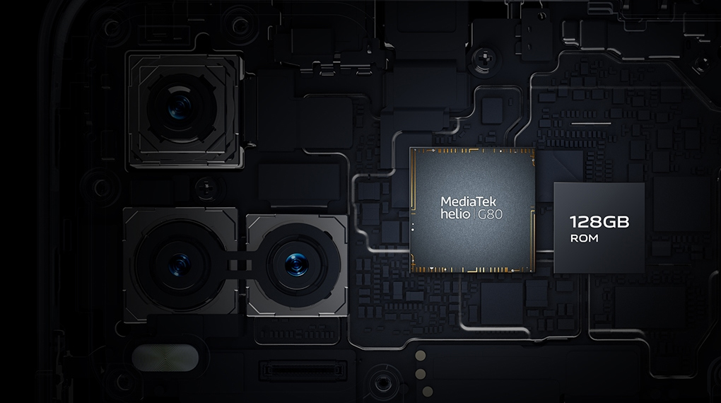 Vi xử lý MediaTek Helio G80 - Vivo Y21s