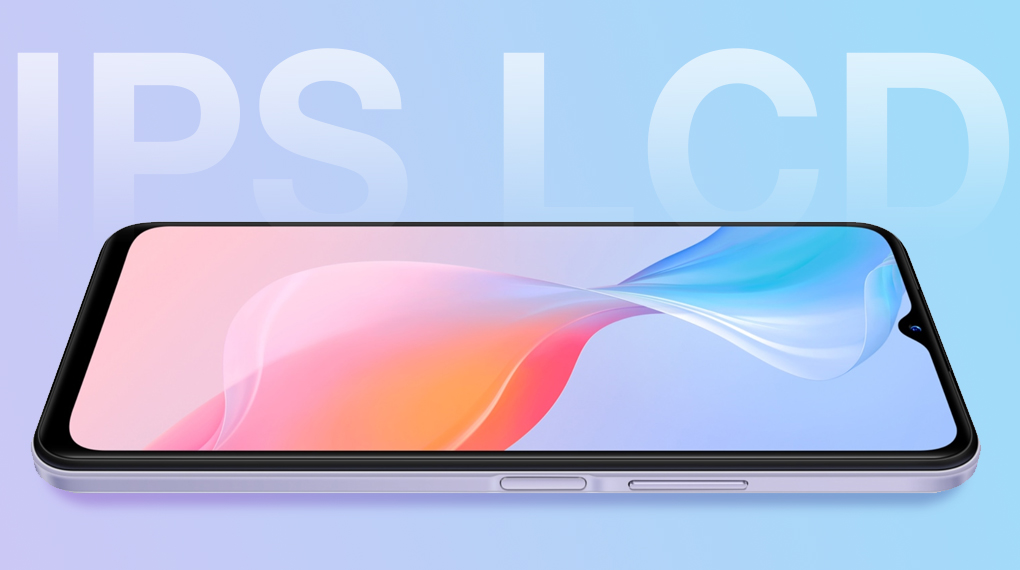 Trang bị tấm nền IPS LCD - Vivo Y21s