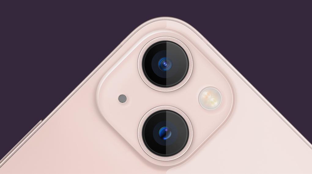 Cụm camera sau với diện mạo mới - iPhone 13 mini 512GB