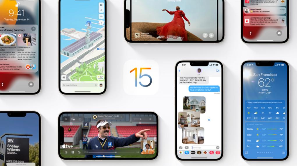 Giao diện iOS 15 - iPhone 13 256GB