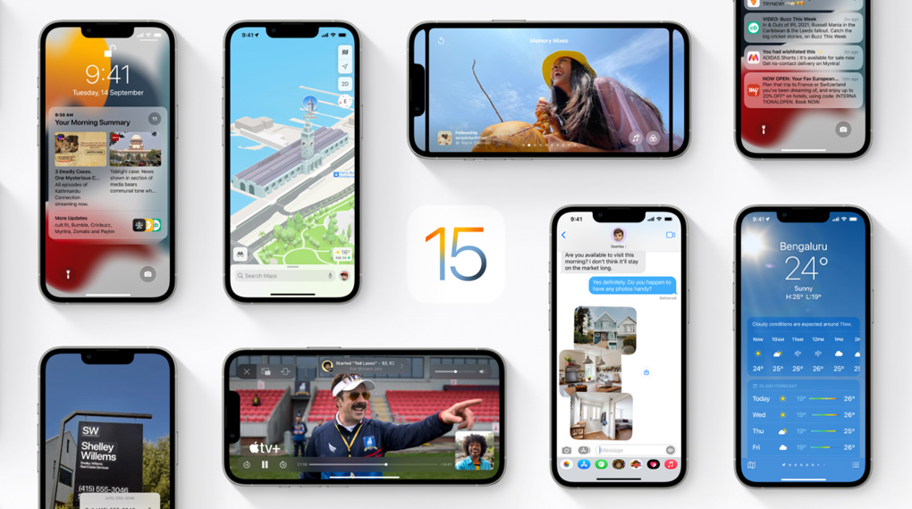 Hệ điều hành iOS 15 - iPhone 13 Pro 512GB