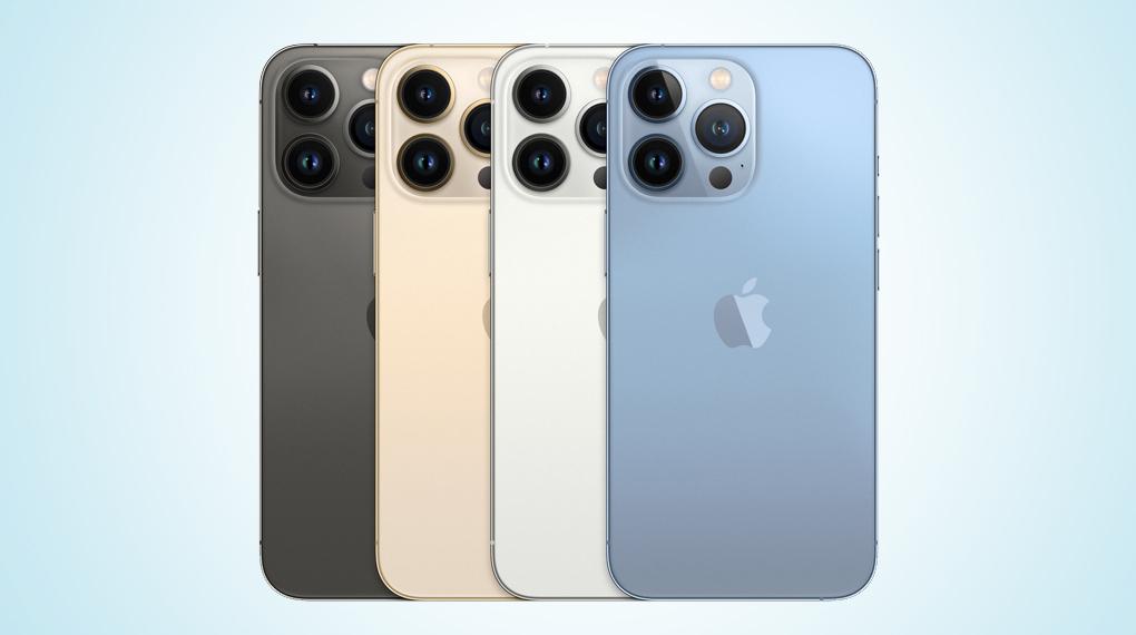 Có 4 phiên bản màu sắc - iPhone 13 Pro 512GB