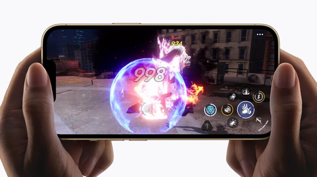 Đồ họa mượt mà, ấn tượng - iPhone 13 Pro 512GB