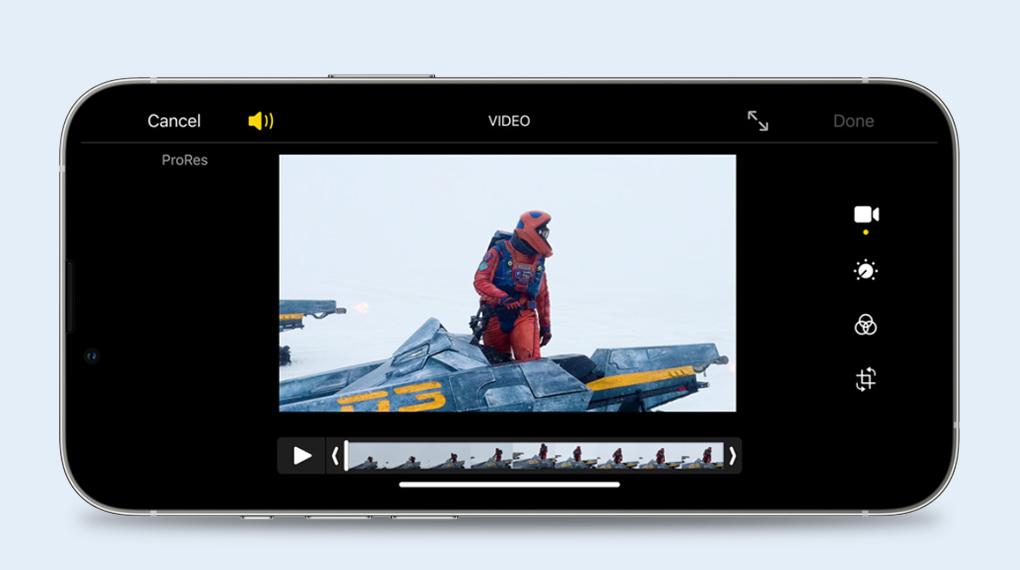 Quay video chuyên nghiệp với ProRes - iPhone 13 Pro Max 256GB