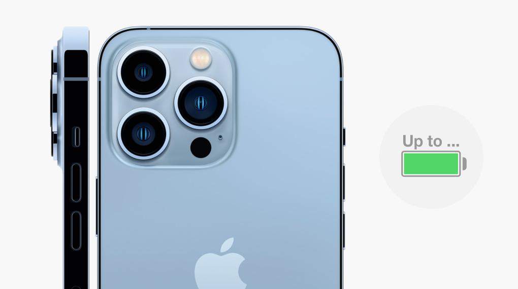 Chip A15 giúp tối ưu hóa năng lượng - iPhone 13 Pro Max 256GB