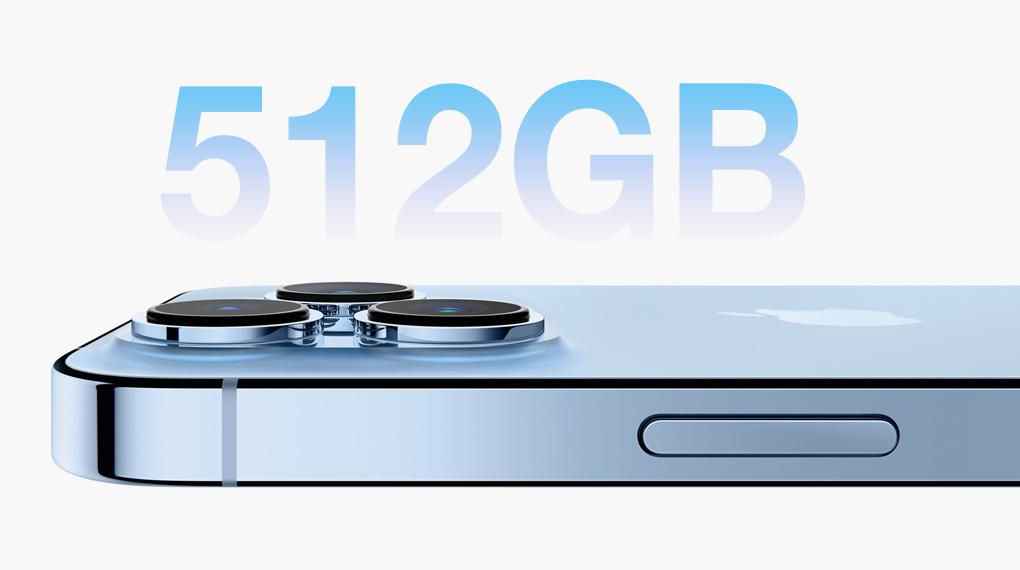 Dung lượng bộ nhớ - iPhone 13 Pro Max 512GB