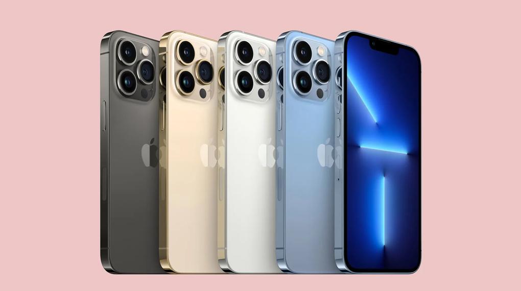 Có 4 phiên bản màu sắc - iPhone 13 Pro Max 512GB