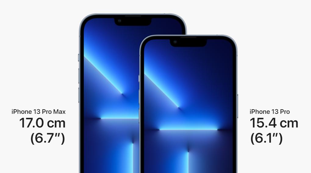 Màn hình kích thước 6.7 inch - iPhone 13 Pro Max 512GB