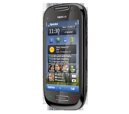 Nokia C7-hình 10