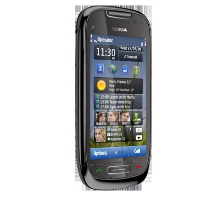 Nokia C7-hình 14