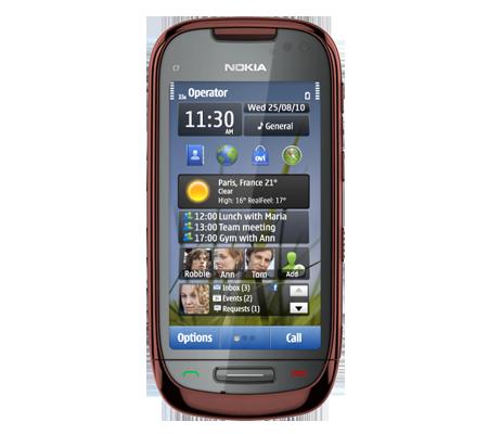 Nokia C7-hình 17