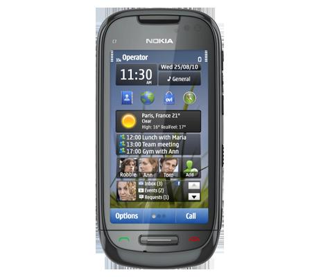 Nokia C7-hình 9
