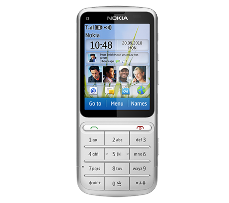 Nokia C3-01 Touch and Type-hình 1