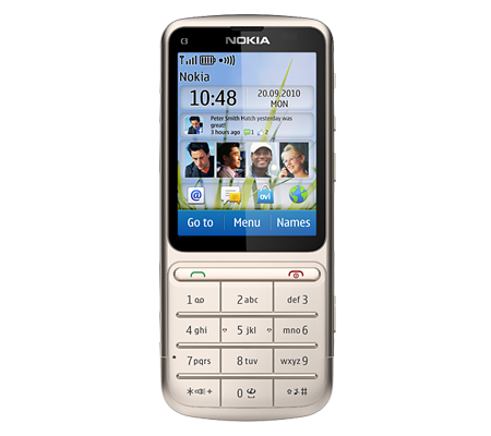 Nokia C3-01 Touch and Type-hình 17