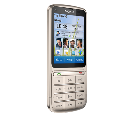 Nokia C3-01 Touch and Type-hình 22