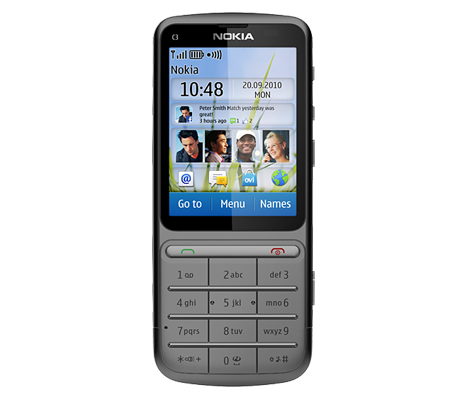 Nokia C3-01 Touch and Type-hình 9