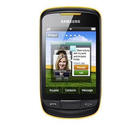 Samsung Corby II S3850-hình 1