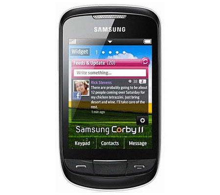 Samsung Corby II S3850-hình 18