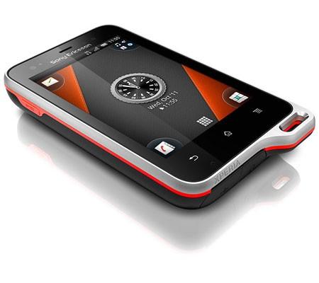 Sony Ericsson Xperia active ST17i-hình 3