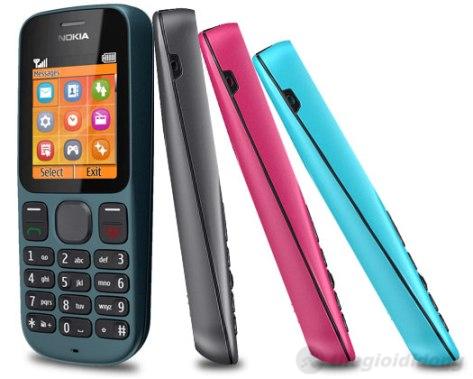 Nokia 100 với nhiều màu sắc tùy chọn