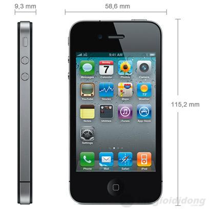 Apple iPhone 4S 16GB Black (Bản quốc tế)