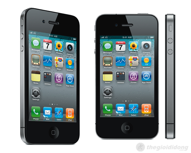 iPhone 4 được Apple chăm chút đến từng đường nét trong thiết kế