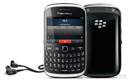 RADIO FM trên Blackberry 9320