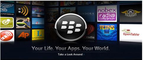 Kho ứng dụng thông minh của BlackBerry