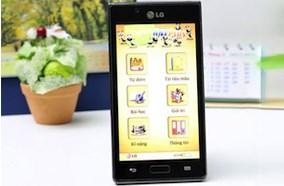Phần mềm học tiếng anh trên LG Optimus L7 P705