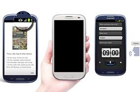 Samsung galaxy S3 có nhiều tiện ích đi kèm