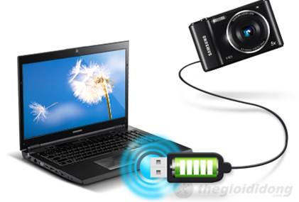 Samsung ES90 sạc bằng usb