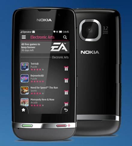 Nokia Asha 311 có chip xử lý 1 GHz