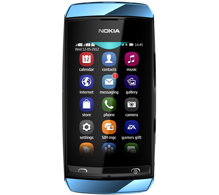 Nokia Asha 305-hình 2