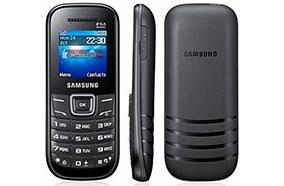 SamsungE1200 thiết kế