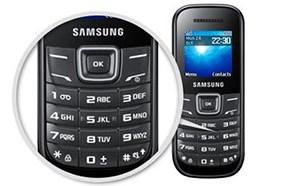 SamsungE1200 bàn phím