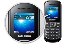 SamsungE1200 màn hình