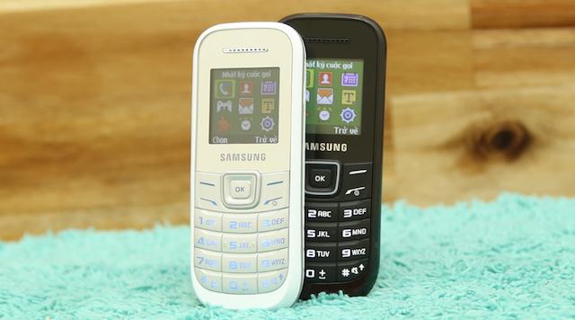 Thiết kế điện thoại Samsung E1200