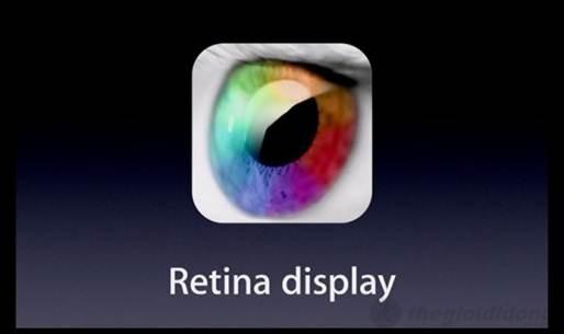 Công nghệ màn hình Retina trên iphone 5