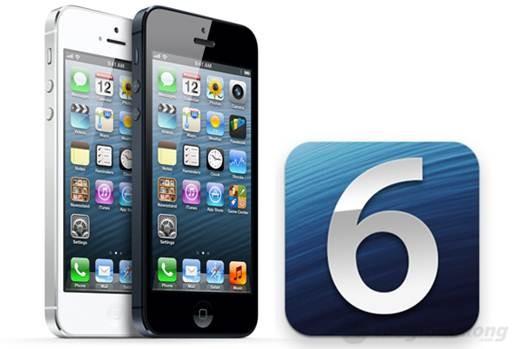 iphone 5 dùng hề điều hành ios 6