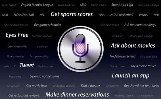 Trợ lý ảo Siri trên iphone 5 gần như đã hoàn hảo