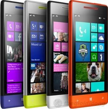 giao diện WP8 trên HTC 8S