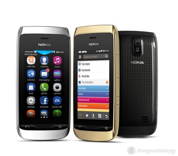 Nokia Asha 308 – Trẻ trung, năng động