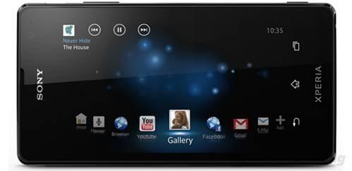 Giao diện TimeSpace độc  quyền của Sony trên Xperia TX