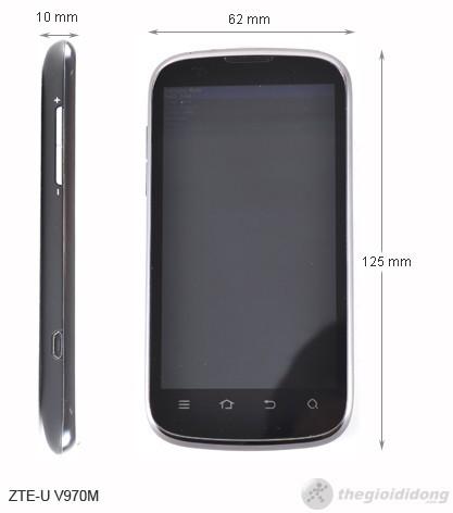 Kích thước ZTE-U V970M