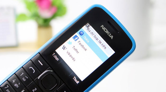 Nokia 109 Browser
