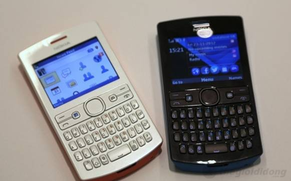 Ảnh thức tế của Nokia Asha 205