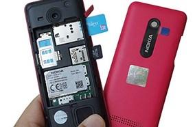 Nokia 206 hỗ trợ 2 sim 2 sóng