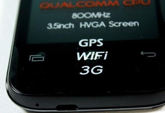 Mobell S20 hỗ trợ đầy đủ kết nối Wifi, 3G…