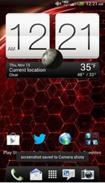 Giao diện người dùng đẹp mắt trên HTC  Butterfly
